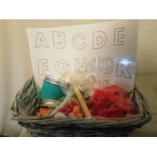 Alphabet Playdough Set